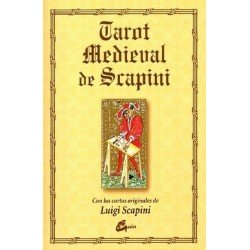 TAROT MEDIEVAL DE SCAPINI (LIBRO Y CARTAS)