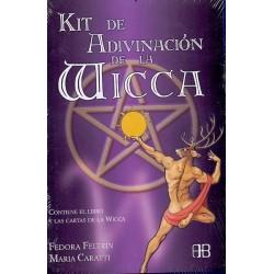 KIT DE ADIVINACION DE LA WICCA (LIBRO Y CARTAS)
