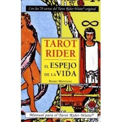 TAROT RIDER WAITE. EL ESPEJO DE LA VIDA (LIBRO Y CARTAS)