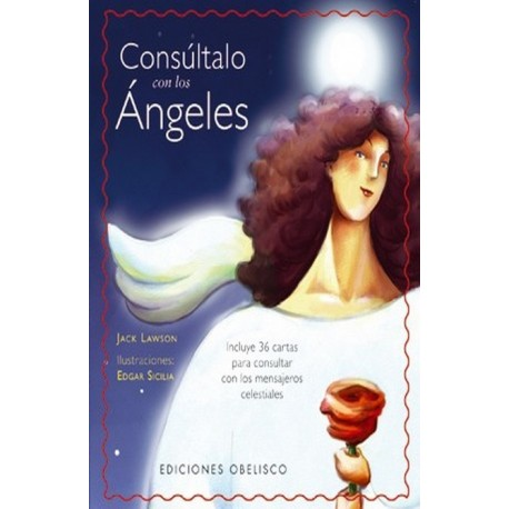 CONSULTALO CON LOS ANGELES. Estuche Libro más Cartas