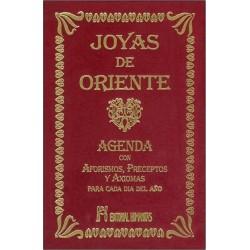 JOYAS DE ORIENTE. Agenda con Aforismos