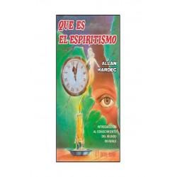 QUE ES EL ESPIRITISMO. Editorial humanitas