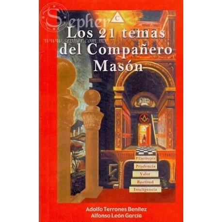 21 TEMAS DEL COMPAÑERO MASON LOS