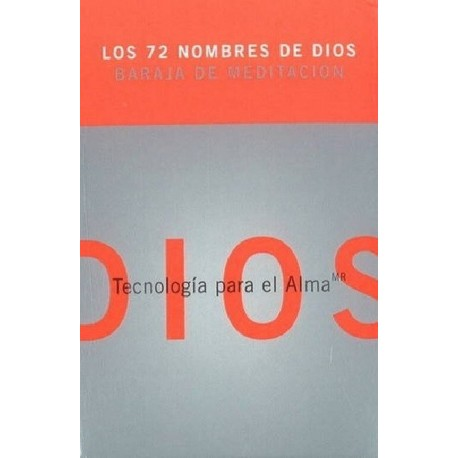 72 NOMBRES DE DIOS LOS . BARAJA DE MEDITACION