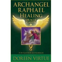 ORACULO ARCANGEL RAFAEL. ARCHANGEL RAPHAEL HEALING ORACLE CARDS