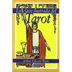CLAVE ILUSTRADA DEL TAROT LA. Kit libro y cartas