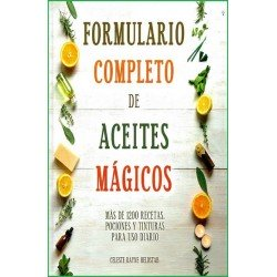 FORMULARIO COMPLETO DE ACEITES MAGICOS