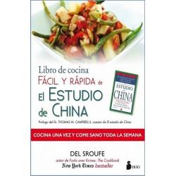 """LIBRO DE COCINA FACIL Y RAPIDA DE EL ESTUDIO DE CHINA"""""""""""