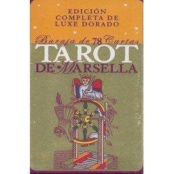 TAROT DE MARSELLA. Edición de Luxe Dorado