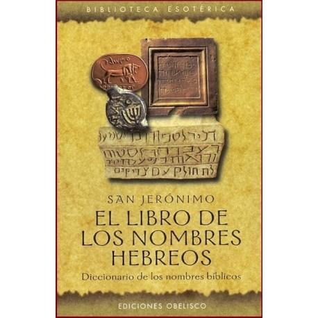 LIBRO DE LOS NOMBRES HEBREOS EL