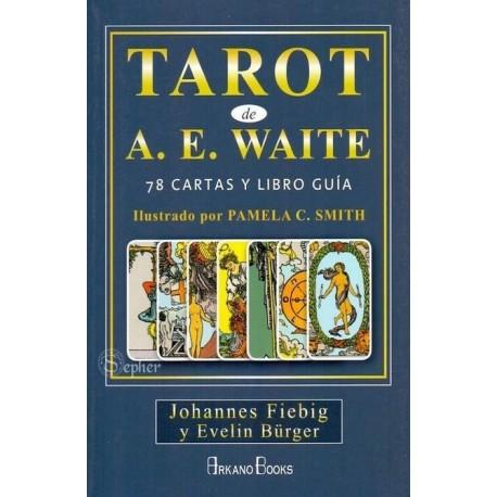TAROT RIDER DE A. E. WAITE (Libro y 78 cartas)