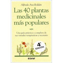 40 PLANTAS MEDICINALES MÁS POPULARES LAS