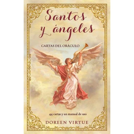 SANTOS Y ÁNGELES CARTAS DEL ORÁCULO