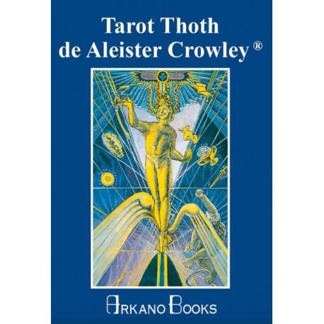 TAROT THOTH DE ALEISTER CROWLEY (Libro Y Cartas)
