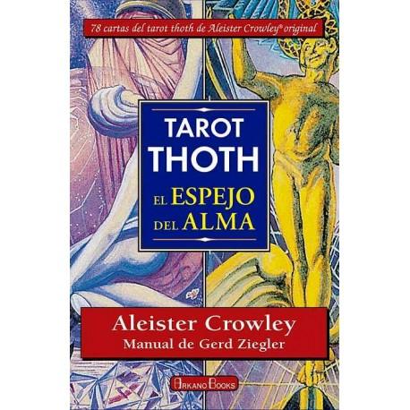 TAROT THOTH. El espejo del alma ( libro y cartas)