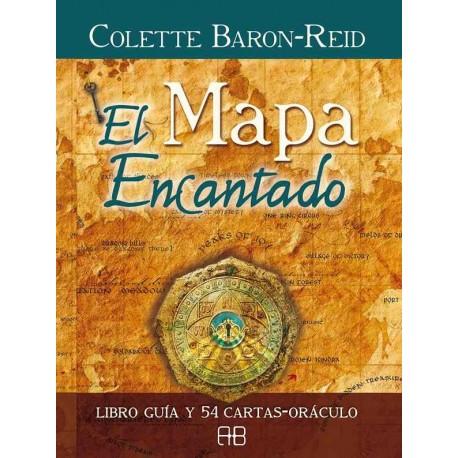 MAPA ENCANTADO, EL. Libro guía y cartas