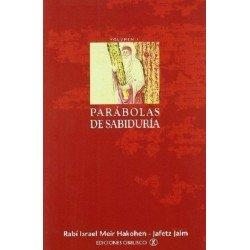 PARÁBOLAS DE SABIDURÍA VOLUMEN l