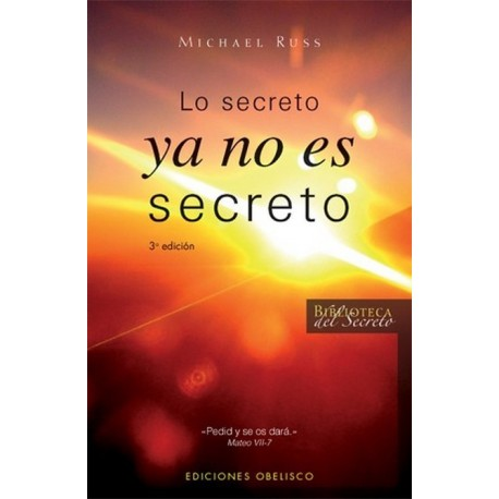 SECRETO YA NO ES SECRETO LO