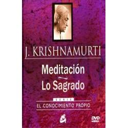 MEDITACION. LO SAGRADO (INCLUYE DVD)